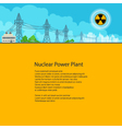 Poster Electric Power Transmission vector image