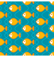 Abstract fish pattern vector image