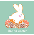 Easter Bunny Ears vector image