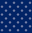 lifebuoy on blue background seamless pattern vector image