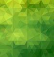 Green geometric vector image