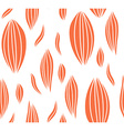 Seamless abstract leaf fall pattern vector image
