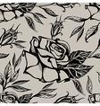 flower rose seamless 1 vector image
