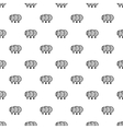 Magnified lenses pattern simple style vector image
