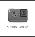 action extreme camera symbol esp10 vector image