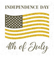 4th of july independence day vector image