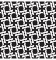 Chain mail of the links in form of four-point vector image
