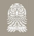 eagle totem tattoo vector image