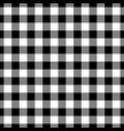 lumberjack plaid pattern in black and white vector image