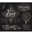 Vintage Elements for bar vector image