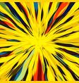 cats eye abstract art vector image