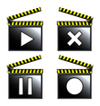 movie cinema vector image vector image
