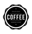 Coffee vintage stamp vector image