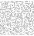 Hexagon geometric seamless pattern vector image