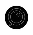 mug coffee symbol vector image