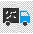 Route Van Eps Icon vector image