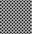 Black and white seamless polygon pattern vector image