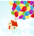 Party house vector image vector image