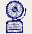 Alarm bell vector image