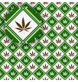 cannabis texture vector image