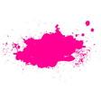 Colorful splash banner vector image