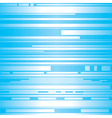shiny strip in blue background vector image