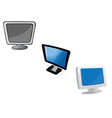 monitors computer vector image