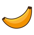 banana fruit eat fresh icon vector image