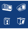 Scanners of car plates vector image