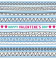 Seamless valentine card4 vector image