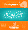 Thanksgiving Design Background Templates vector image