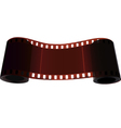 Scroll of two bobbin of one film vector image