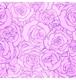 Seamless vintage floral pattern background with vector image