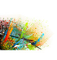 abstract motley background vector image vector image