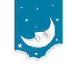 Crescent Moon face vector image vector image