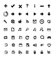 Icon on white background vector image