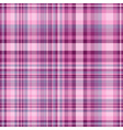 Seamless pink and purple checkered pattern vector image