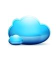 cloud space conceptual icon vector image