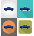 transport flat icons 51 vector image