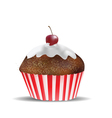 muffin object vector image