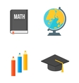 School symbols set vector image