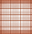 Seamless classic brown plaid vector image
