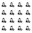 people icon3 vector image