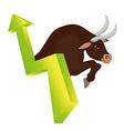 Business stock exchange vector image