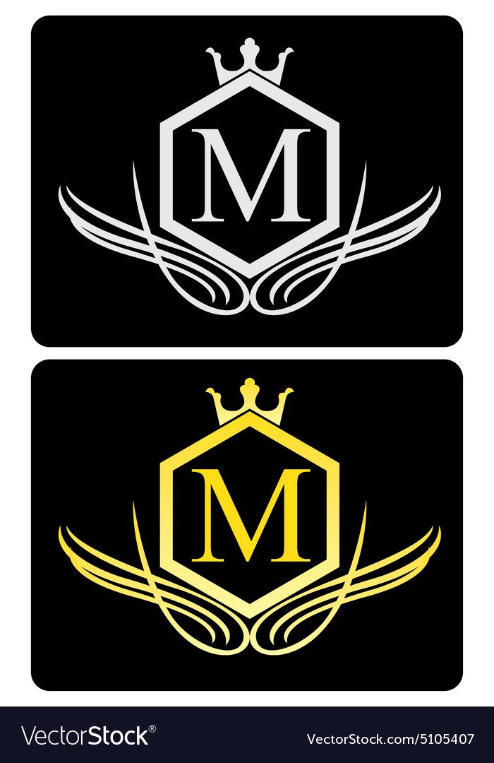 Luxury logo 3 vector