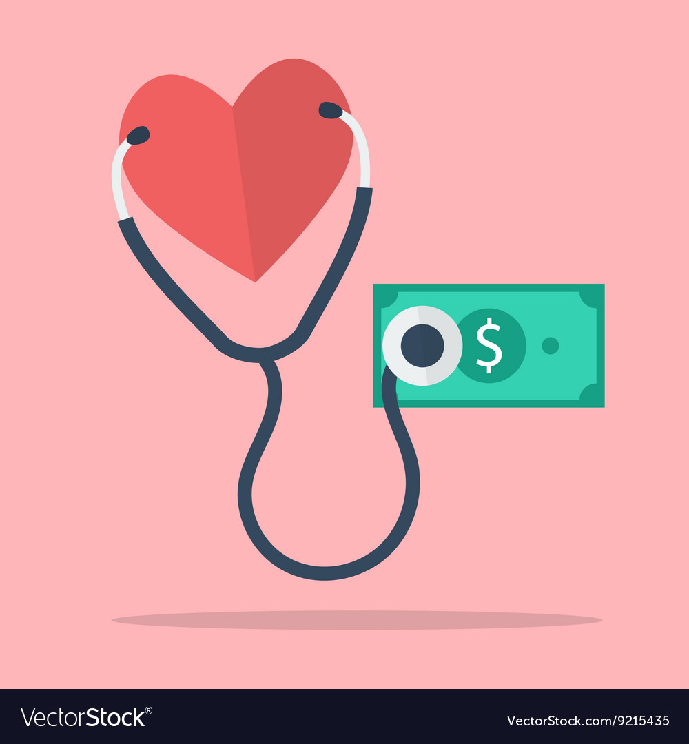 Financial checkup concept vector