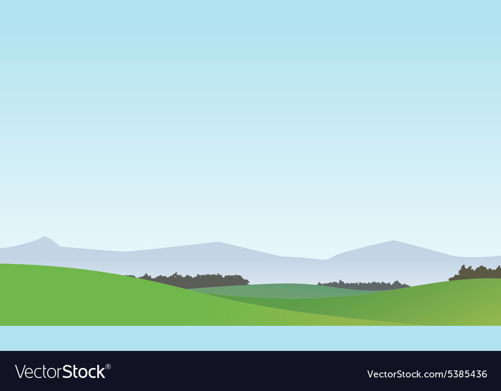 Landscape background 1 vector