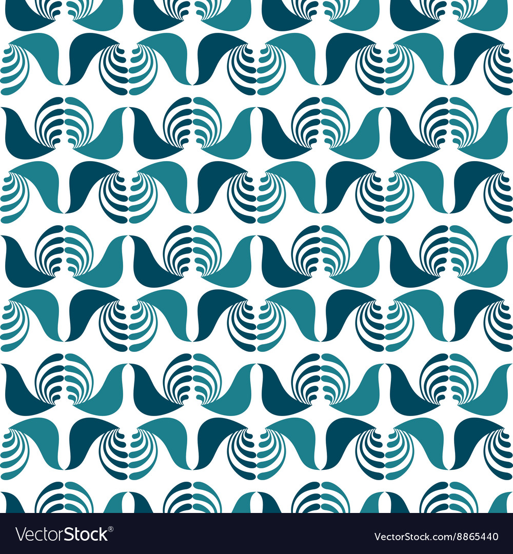 Seamless birds pattern vector