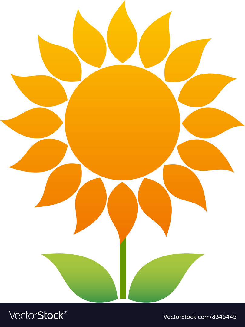Sunflower380x400 vector