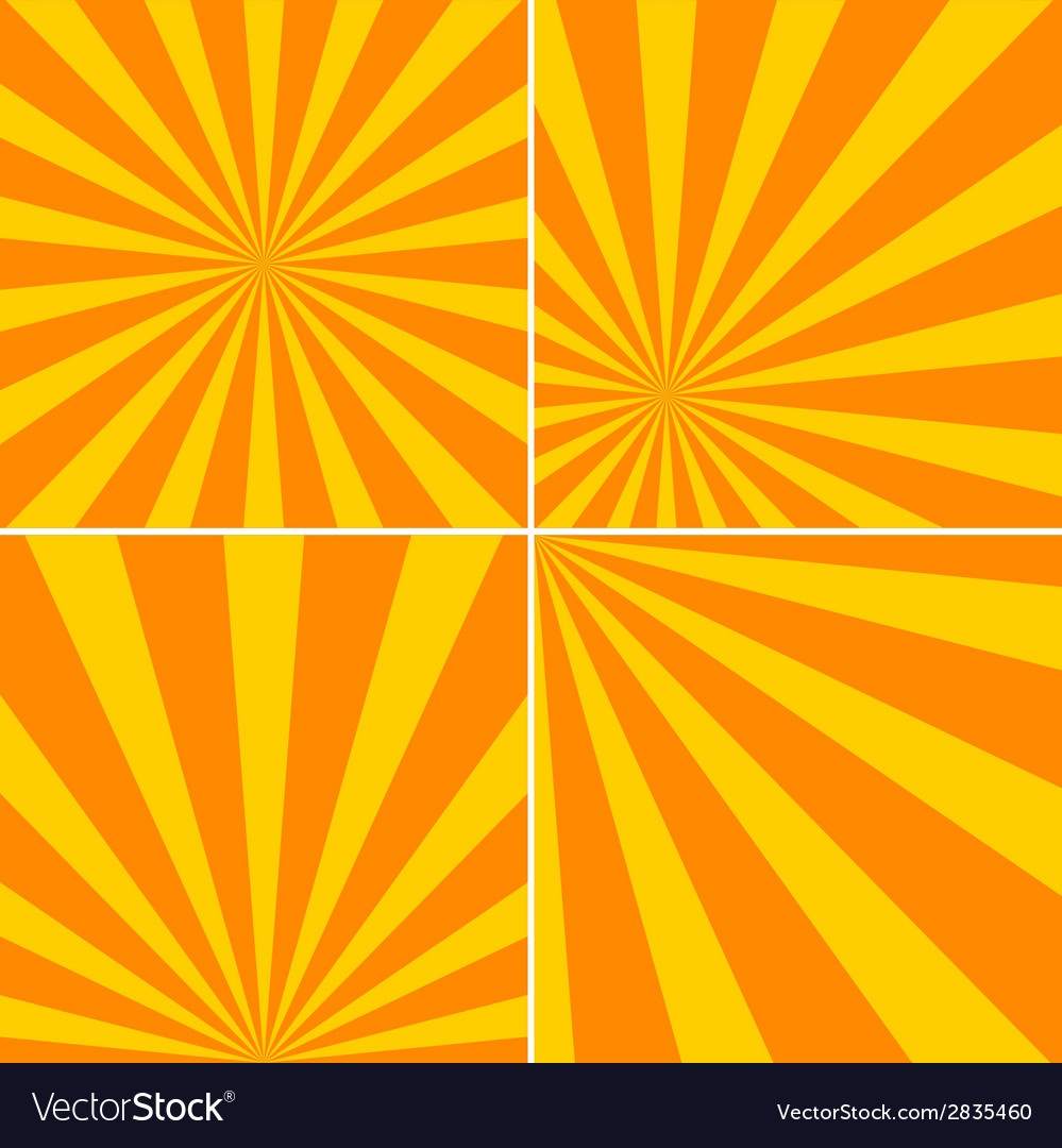 Striped backgrounds vector